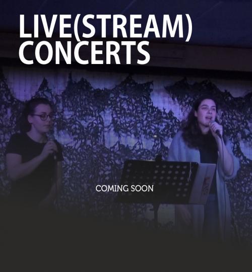 Livestream concerts - agenda