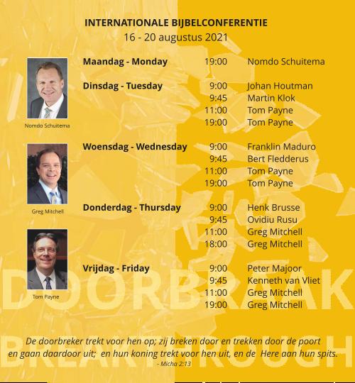 banner programma conferentie evangeliegemeente de deur zwolle augustus 2021
